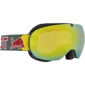 Red Bull SPECT Magnetron Ace Goggles, olive green/yellow snow